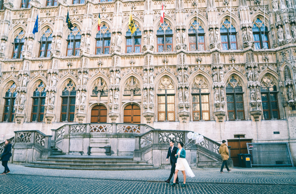 trouwen Leuven in de winter