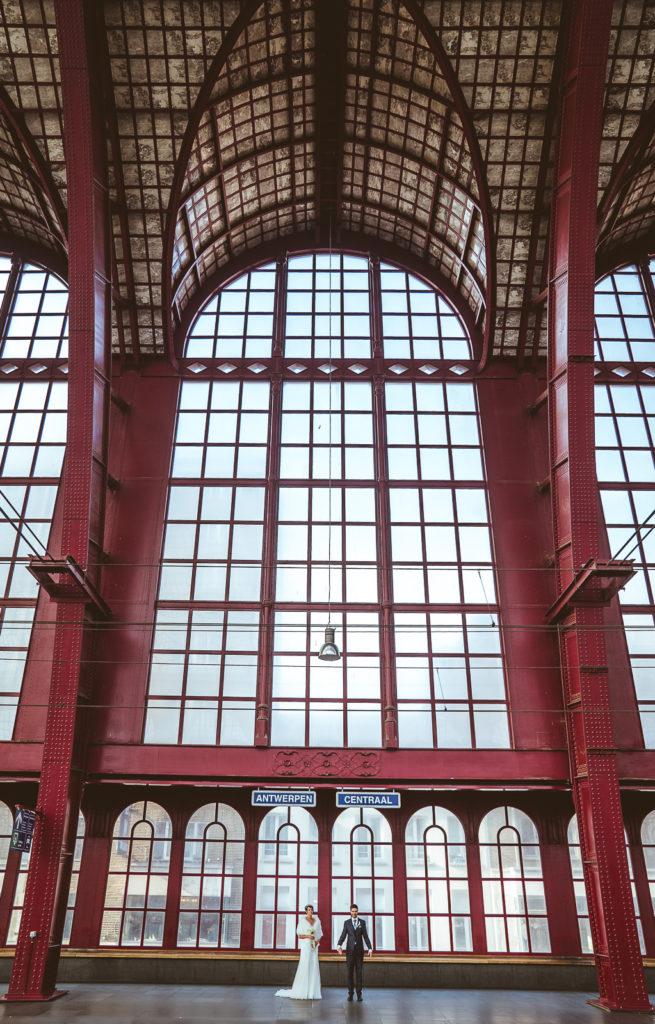 Trouw Foto's Antwerpen centraal Station
