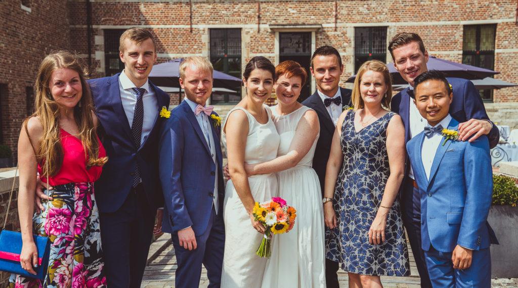trouwen steenhuffel fotograaf groepsfoto