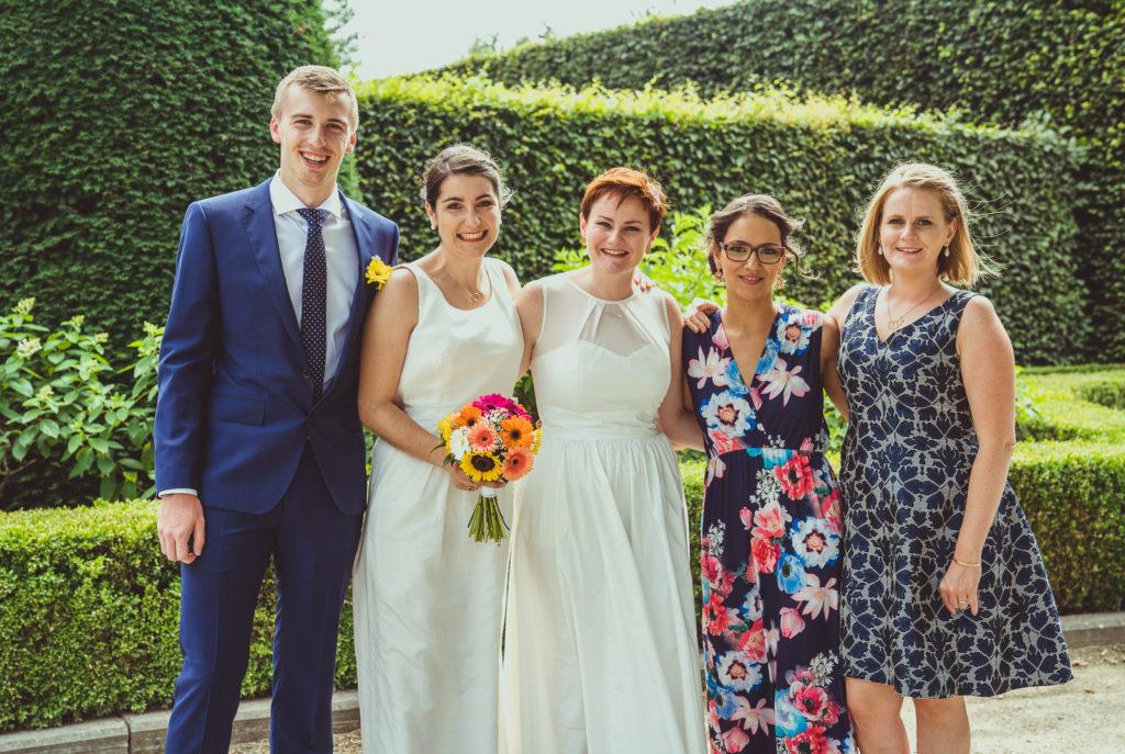 trouwfotos met familie