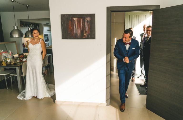 eerste blik trouwdag rupelmonde