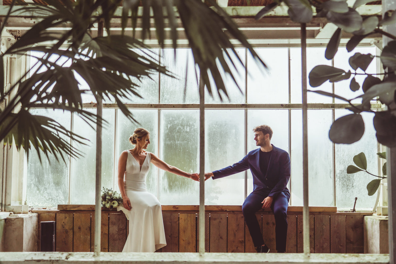plantentuin trouwfotograaf meise